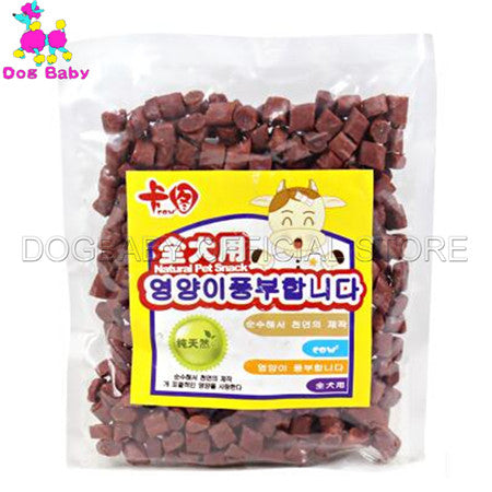 DOGBABY Chew Dog Food Feeders Fresh Beef Material Dogs Snacks Health Foods For Small Large Dogs Dlicious Beef Snack 200g Feeder