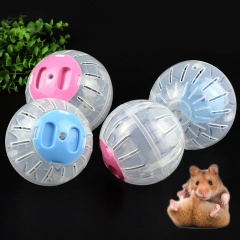 Sale Breathable Hamster Running Ball Gerbil Rat Rabbit Running Pebble Ball Toy Exercise Ball
