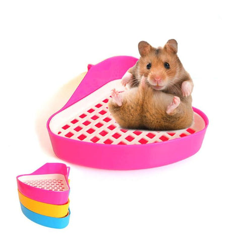 Toilet Litter Trays Good For Small Animal Pets (Hamster/Pet Cat/Rabbit)