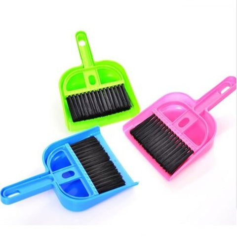 Dustpan & Broom Sweep Kit For Hamsters Litters & Mess (Cleaning Kit)