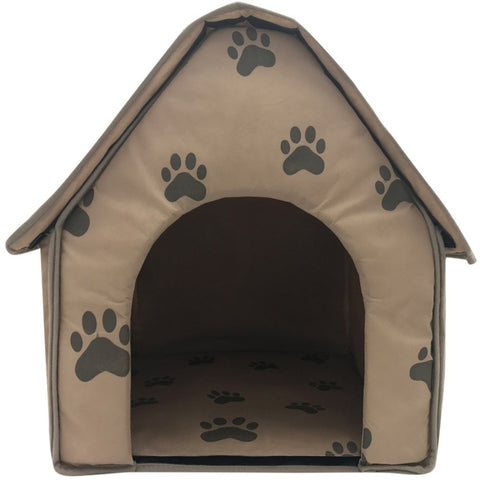 Top Fashion Foldable Dog House Small Footprint Pet Bed Tent Cat Kennel- Portable Accessory