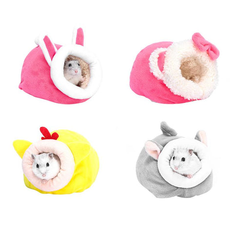 Pet Mouse Guinea Pig Bed Pet Sleeping House Warm Hamster Dog Kitten Nest