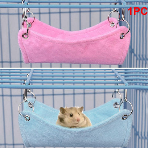 HOUSEEN Hamster & Small Pet Breathable Hammock Cage House (Hanging Bed Toy)