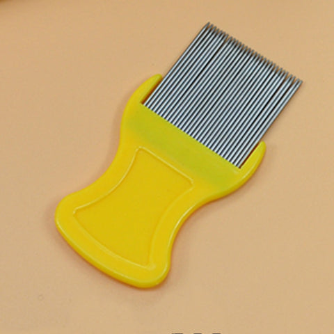 Pet Lice/Flea Egg/Dirt Remover (Stainless Steel Tooth Comb) Health Brush