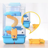 3-Storey Pet Hamster Cage/Luxury House (Portable Mice Home)