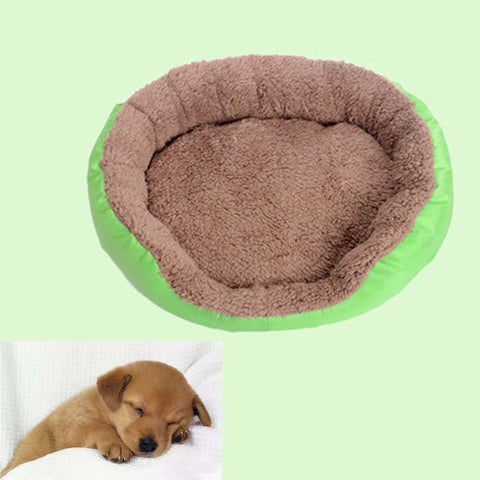 Pet Dog Beds Cat Bed Puppy Cushion House Soft Warm Cozy Soft Kennel Mat Blanket 3 SIZE New Cat Dog Supplies Bed