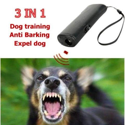 TINGHAO Ultrasonic Anti Barking Control Pet Dog Stop Bark Training Device Dog Repeller Bark Deterrent Silencer