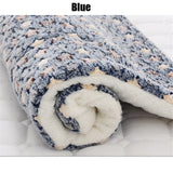 Soft Flannel Pet Mat Dog Bed Thicken Warm Cat Dog Blanket Puppy Sleeping Cover Towel Cushion for small Medium Large Dogs