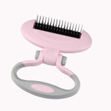 Pet Dog & Cat Grooming Brush Comb / Shedding Rake/ Trimming Tool