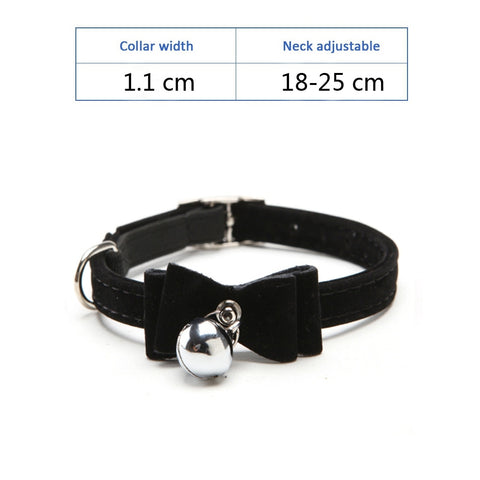 Dog/Cats/Kittens Elegant Collar With Bell (Pets Collars Leashes)