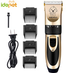 Cat Electric Clipper Pet Shaving Hair Clipper Pusher Animals Grooming Electric Scissors Cat Hair Trimmer Cutter 110-240V AC51 A1