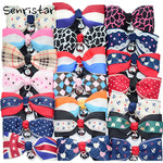 Cute Bow Tie Bell Pet Collars For Small Medium Cats Adjustable Lovely Necklace Soft Safety Bowknot  Kitten Cat Puppy Dog Collar