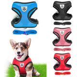 Breathable Small Dog Pet Harness and Leash Set Puppy Cat Vest Harness Collar For Chihuahua Pug Bulldog Cat arnes perro