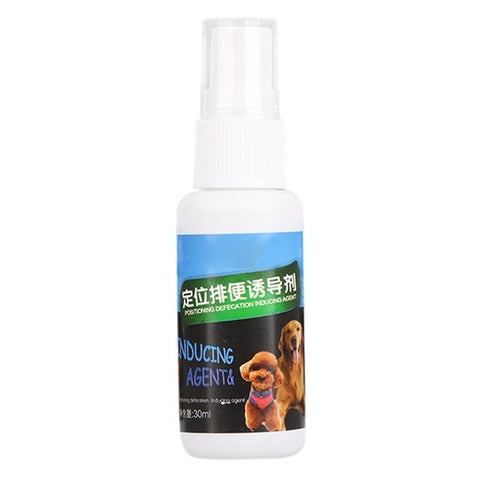 30ML Pet Positioning Defecation Spray (Harmless Inducer) Dogs Toilet Training / Pet Defecation