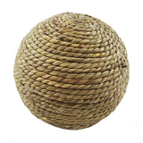 Rabbit Natural Grass Ball Chewing Toy Perfect for Small Pets