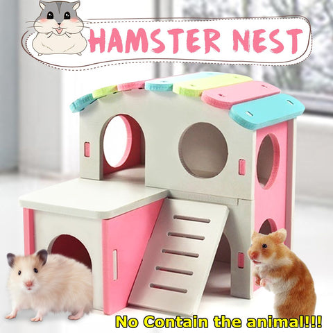 Pet Castle Toy/Pet House Viewing Deck for Hamsters and Small Pets