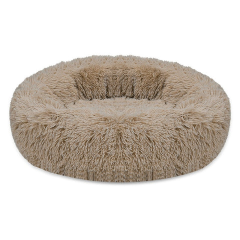 Pet Dog & Cat House Nest Bed With Cute Plush Cushion for Winter