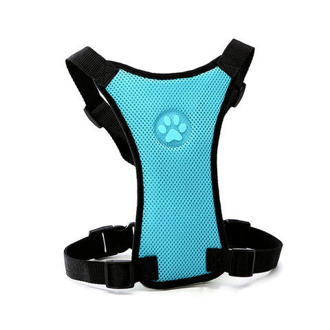 Creative Dog Car Safety Seat Belt with Net Mesh Cloth - Pet Supplies