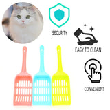 Cat Litter Shovel Scoop with Non-slipping Handle (Cleaning Tool)