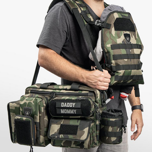 TACTICAL DIAPER BAG® + BABY CARRIER BUNDLE