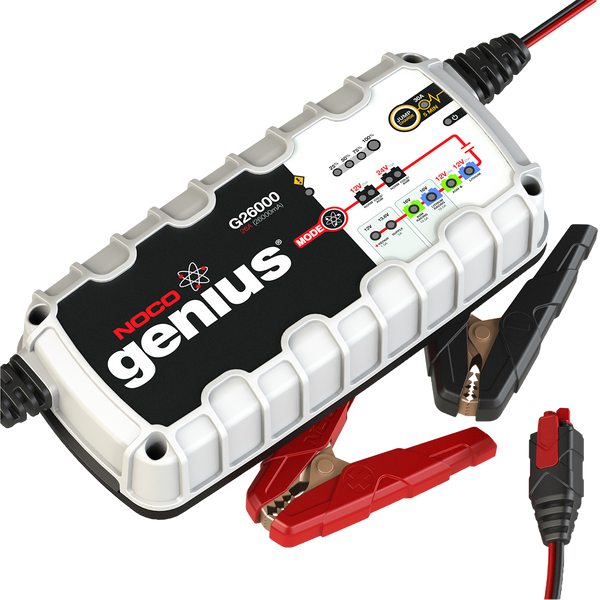 Noco G26000 12V/24V 26A Battery Charger
