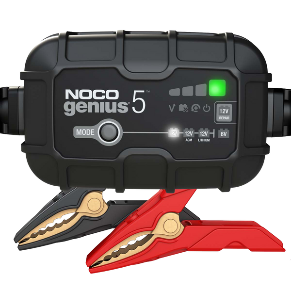 Noco GENIUS5 6V 12V 5A Battery Charger