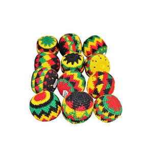 Hacky Sacks: Rasta Design - hacky Sacks