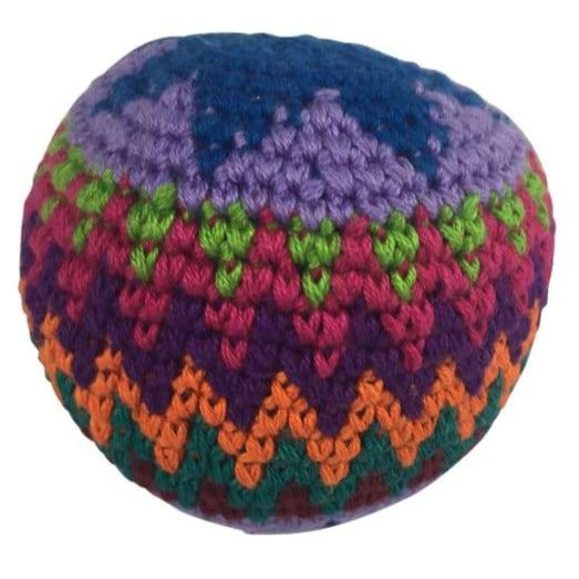 Hacky Sacks: Zig Zag Colourful Design - Hacky Sacks