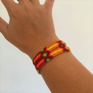 Luxury Cotton friendship bracelets - cotton bracelets