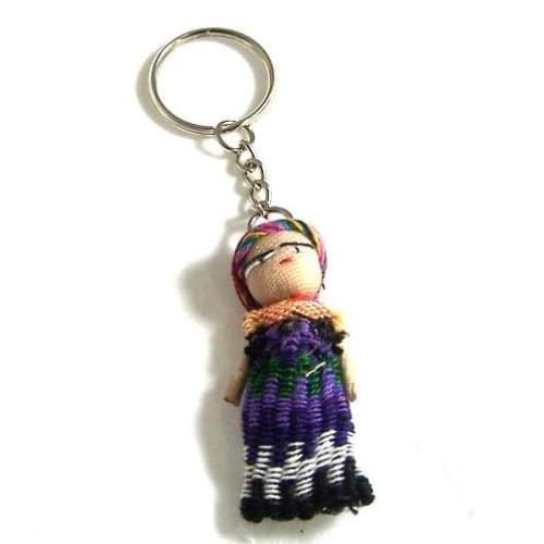 Worry Dolls Keyring