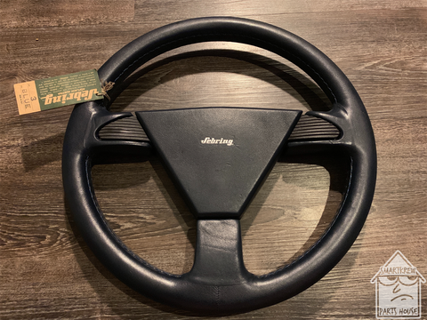 Sebring Type 3 365mm Blue Leather Wheel