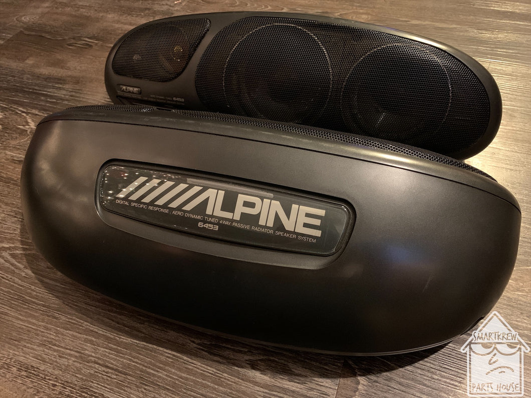 Alpine 6453 4-Way Illuminated Parcel Shelf Speakers