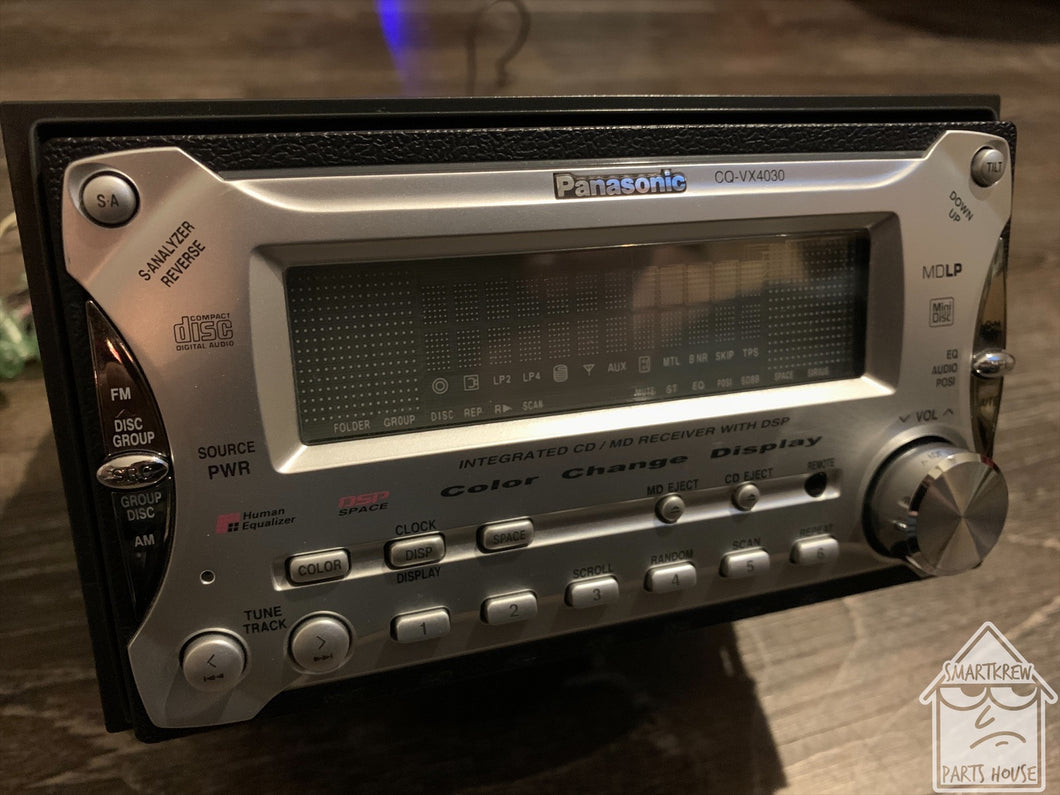 Panasonic CQ-VX4030D Motorized Double Din Radio