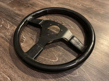 Load image into Gallery viewer, Unknown Manufacturer 345mm Black Leather Wheel