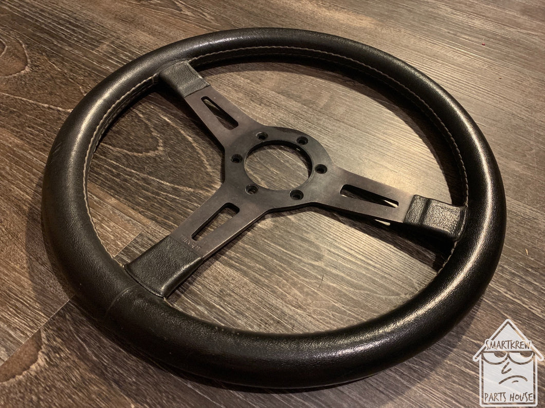 Target Racing T-1 345mm Black Leather Wheel