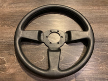 Load image into Gallery viewer, Unknown Manufacturer 365mm Black Leather Wheel