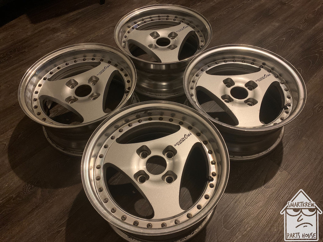 "Advan Oni 15"" Wheel Set"