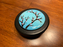 Load image into Gallery viewer, Hand Painted Cherry Blossom Horn Button