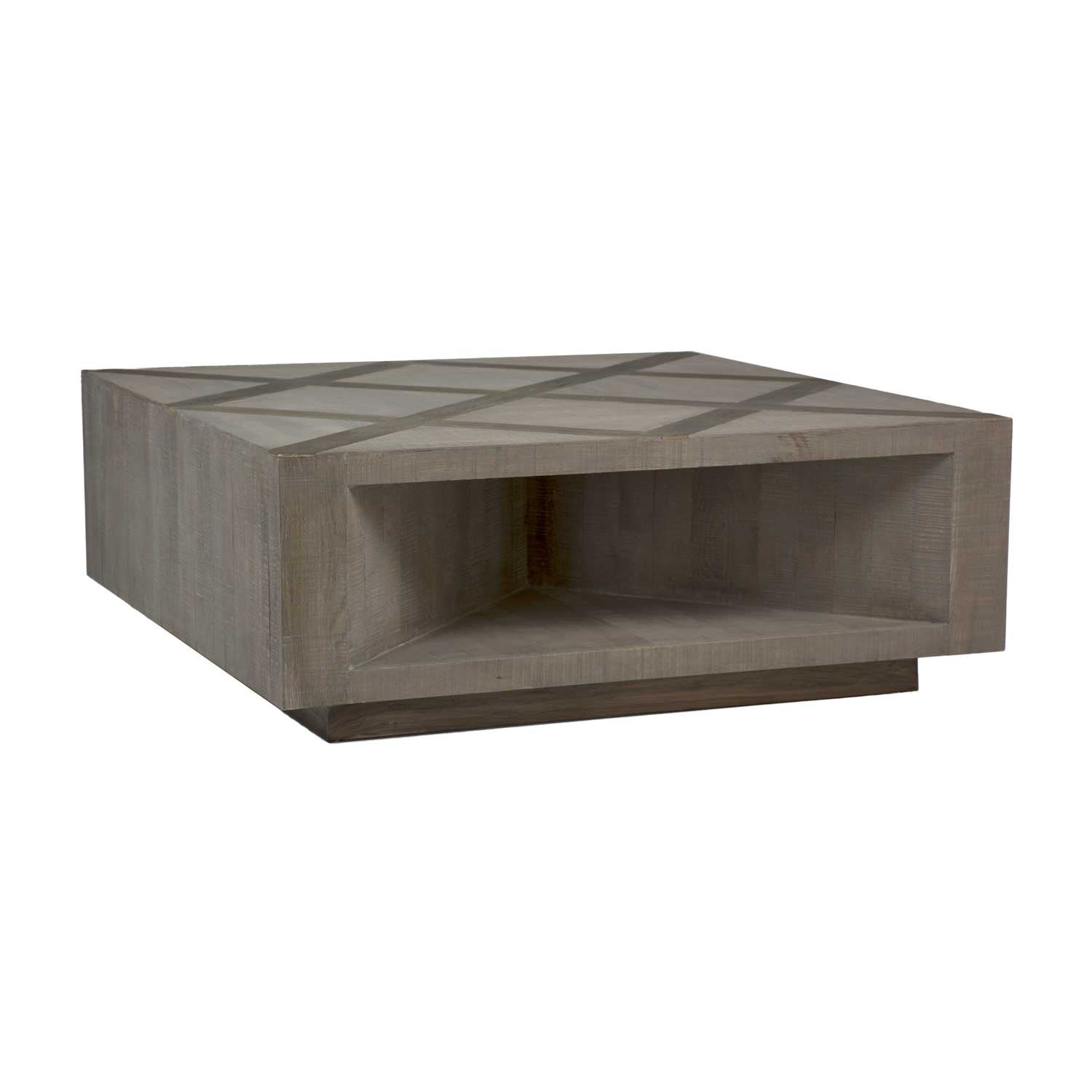 Oak & Untouched Elm Coffee Table - WishBasket