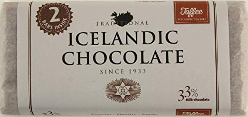 Icelandic Sea Salt Milk Chocolate Toffee - WishBasket