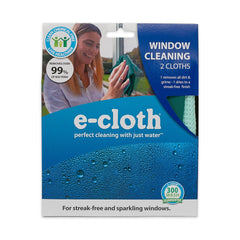 Window Cleaning Pack, Microfiber Glass Scrubbing Cloth & Polishing Cloth (Set of 2) - WishBasket
