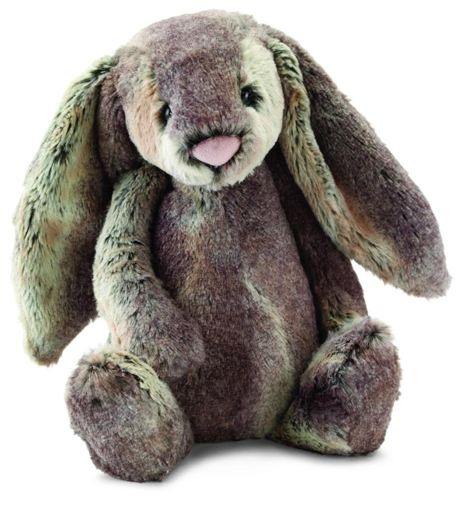 Jellycat Bashful Woodland Bunny Stuffed Animal, Small, 7 inches - WishBasket
