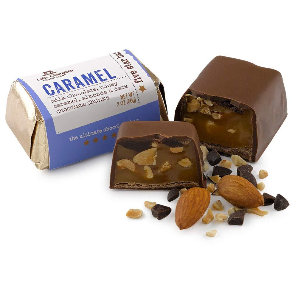 Lake Champlain Milk Chocolate Caramel Five Star Bar, 2 Ounces - WishBasket