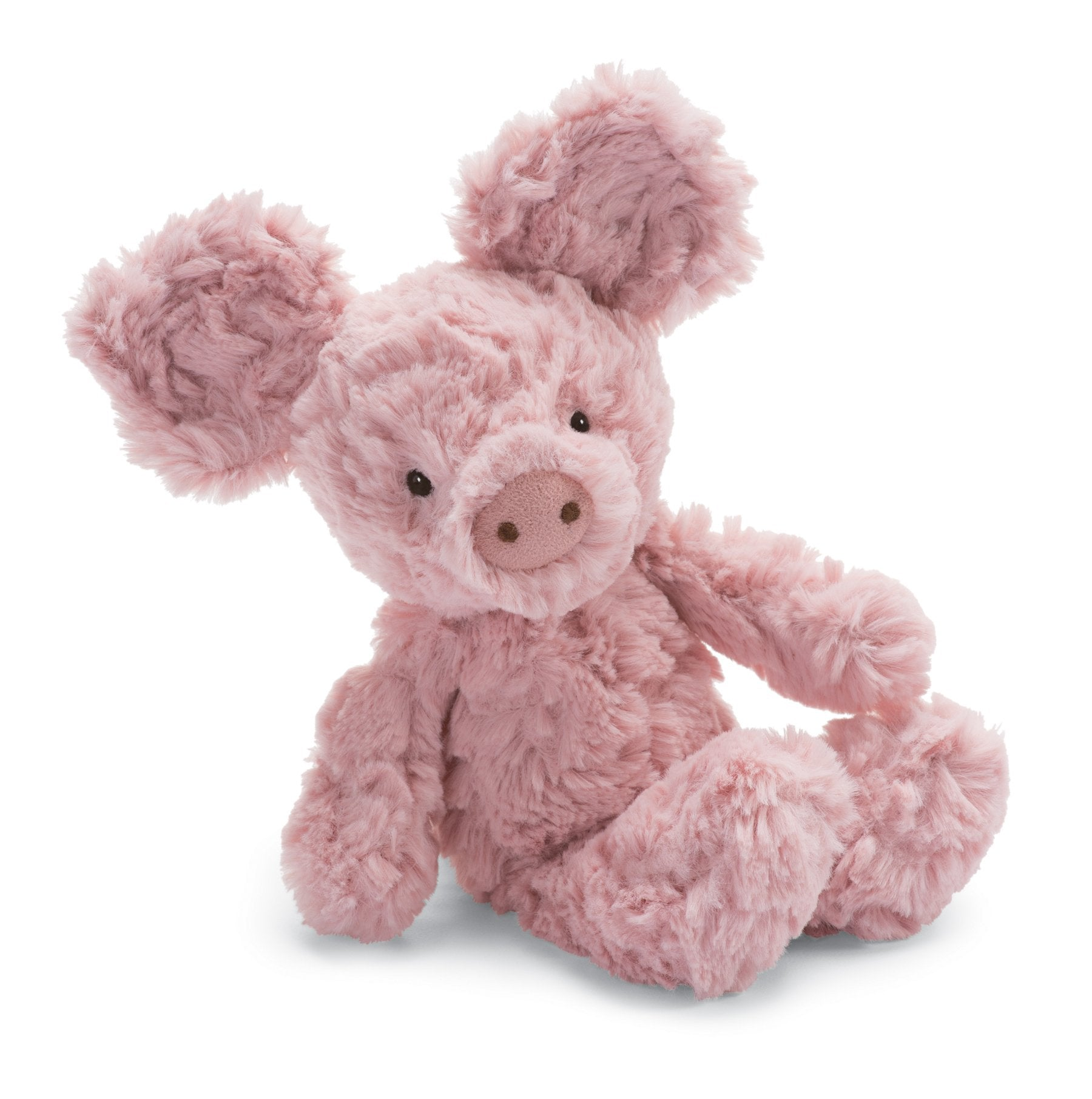 Jellycat Squiggle Pig Stuffed Animal, Small, 9 inches - WishBasket