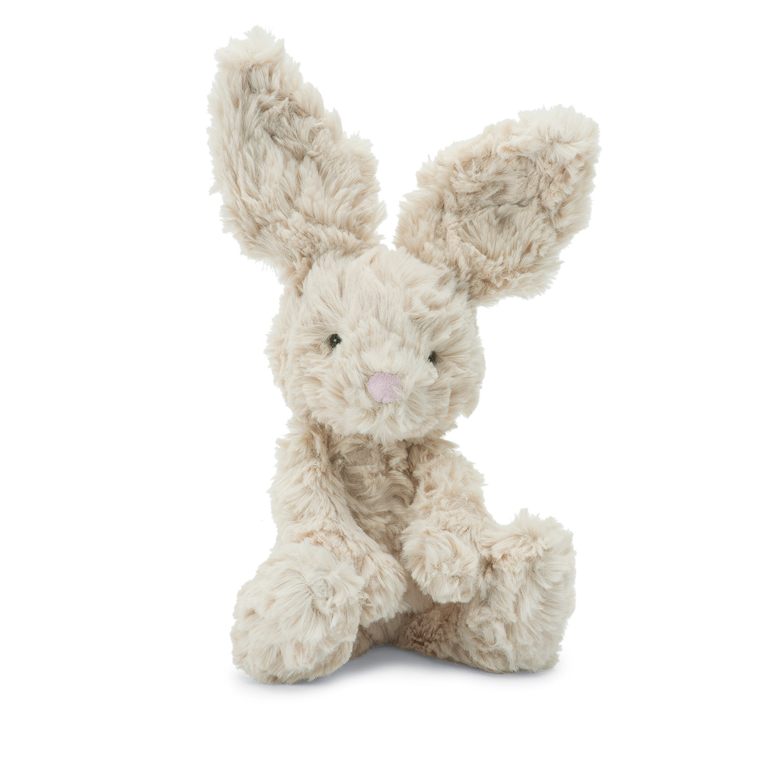 Jellycat Squiggle Bunny Stuffed Animal, Small, 9 inches - WishBasket