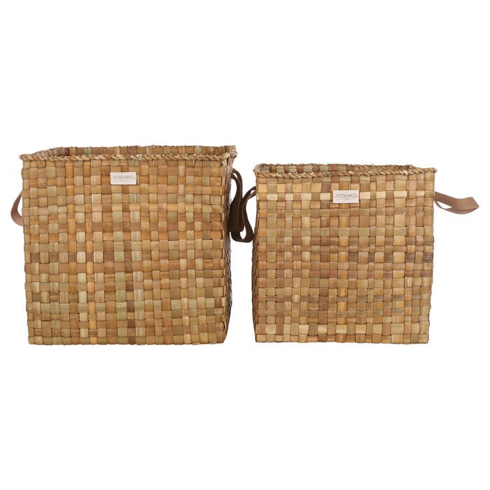 Elephant Grass Storage Basket - WishBasket