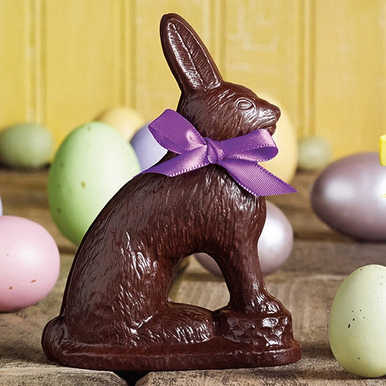 Dark Chocolate Rabbit - WishBasket