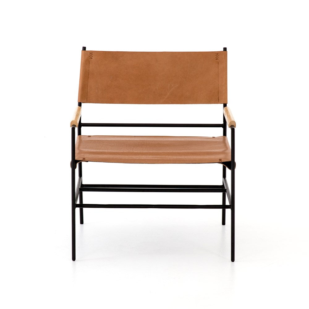 Joss Leather Chair - WishBasket