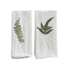 Wild Fern Napkins - Set of 4 - WishBasket