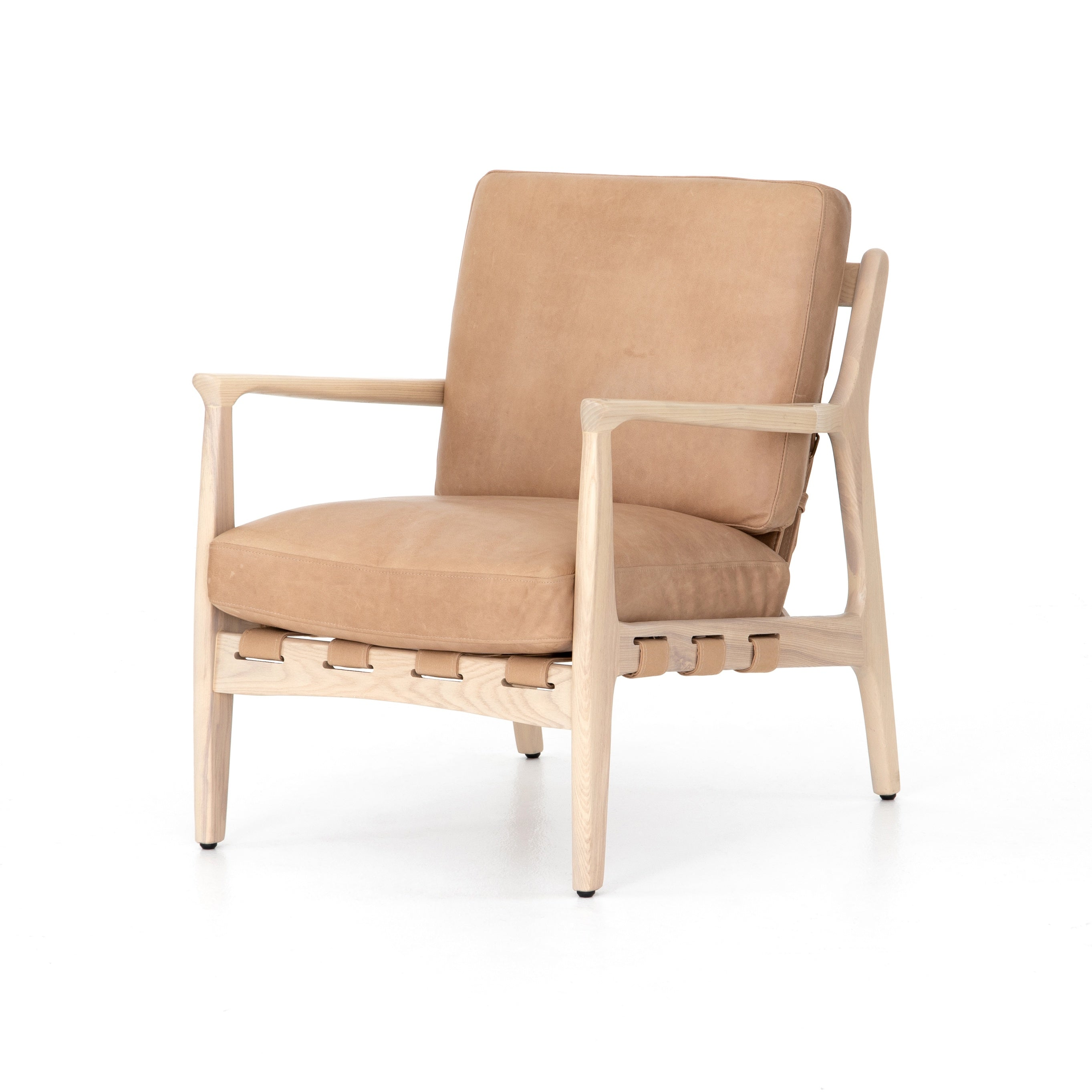 Seymour Chair in Sahara Tan - WishBasket